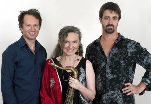 Brett Hirst, Sandy Evans, Toby Hall